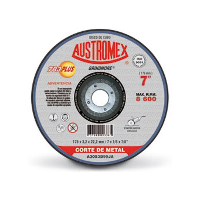 Steel Mart Disco Austromex P Corte De Metal P Pulidor 7 X 1 8 X 7